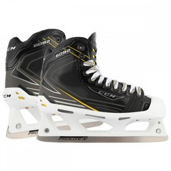 CCM Tacks 6092 Goalie/Goaltender Ice Hockey Skates - Black - Size: 8