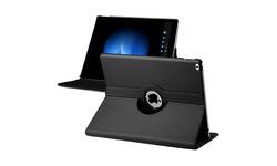 eForCity Insten 360 Degr Leather MultiAngle Case for Apple iPad Pro -Black