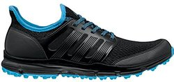 adidas Men's Climacool Spikeless Golf Shoes - Black/Cyan - Size: 10