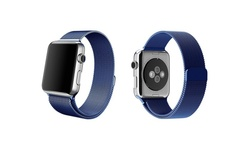 Tribeca Milanese Mesh Band for Apple Watch - Blue - Size: 42mm