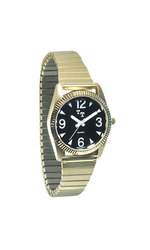 Reizen Men's Tel-Time Low Vision Watch - Gold