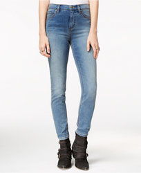 Free People Women's Gummy Skinny Jeans - Light Denim - Size: M
