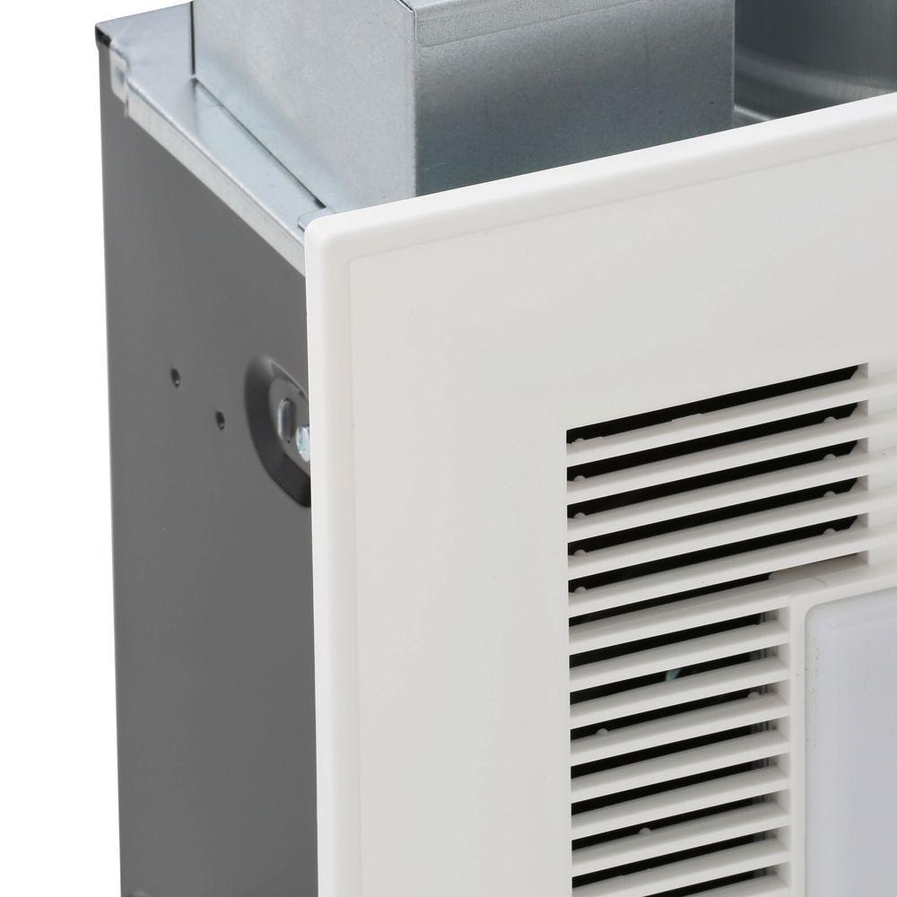 50 Cfm Ceiling Exhaust Bath Fan With Light Home Bathroom: Whisper Green Select 50/80/110 CFM Ceiling Exhaust Bath