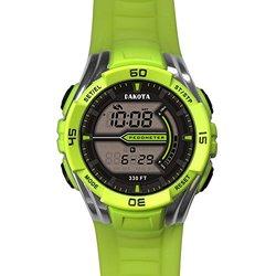 Dakota Watch Company Pedometer Watch Lime