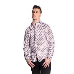 Elie Balleh Men's Shirt: White Ebsh158-1/small