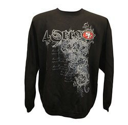 G-III Sports NFL San Francisco 49ers Crew Neck - Black - Size: 3XL