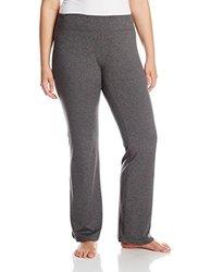 Soybu Plus-Size Women's Allegro Yoga Pants - Storm Heather - Size: 1X