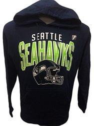 NFL Seattle Seahawks Hoodie Raised - Navy - Size: Large
