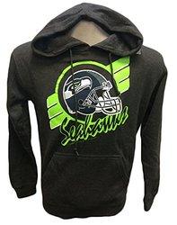 G-III Sports NFL Seattle Seahawks Hoodie Stripe - Charcoal -  Size: XXL
