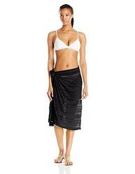 ASICS Women's Sarong - Black - One Size