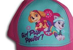 Nickelodeon Toddler Girls Paw Patrol Pink Baseball Cap Hat