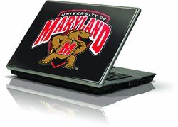 """Skinit Protective Skin Fits Latest Generic 17"""" Laptop/Netbook/Notebook (University of Maryland Terrapins)"""