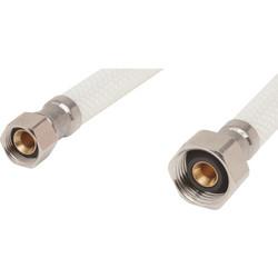 """Maintenance Warehouse 20"""" PVC Faucet Supply Line 3/8 Comp x 1/2 FIP - 10Pk"""