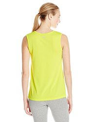 Oiselle Women's Mesh Up Tank Top - Fresh Green - Size: 4