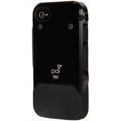 Pai Products Titan Protective Case for iPhone 4/4S - Retail Packaging - Black