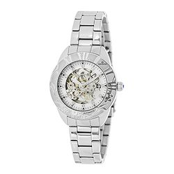 Empress Godiva Ladies Watch -  Silver Band/Silver Dial