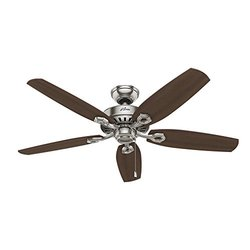 Hunter 52 in. Builder Elite Ceiling Fan - Brushed Nickel (53241)