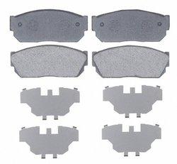 Raybestos SGD247 Service Grade Organic Disc Brake Pad Set