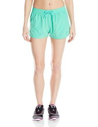 ASICS Women's Train for Sport 2-Inch Woven Shorts, Cool Mint, Medium