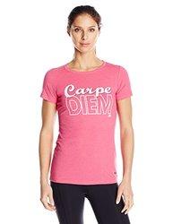 New Balance Women's Carpe Diem Tee - Magenta - Size: Large