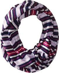Soybu Women's Monroe Infinity Geo Stripe Sweater Scarf - Multi - Size: One