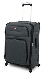 "Swissgear Spinner Luggage: 24""/grey"