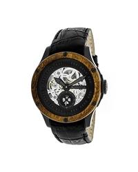 Heritor Men's Montclair Watch - Black