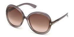 Tom Ford Women's Candice Sunglasses - Brown Frame