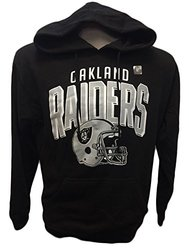 G-III Sports NFL Oakland Raiders Hoodie Raised - Black - Size: Medium