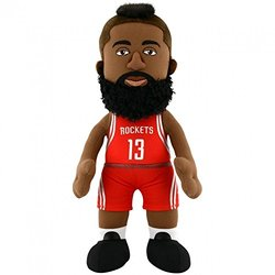 "Bleacher Creatures 10"" NBA Houston Rockets James Harden Plush Figure - Red"