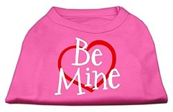 Dog Supplies Be Mine Screen Print Shirt Bright Pink Xxxl (20)