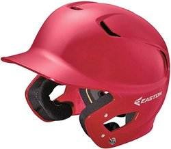 Easton Z5 Solid Senior Batting Helmet Red