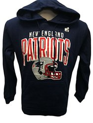 NFL New England Patriots Raised Graphic Hoodie Raised - Navy - Size: M