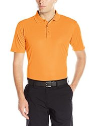 Cutter & Buck Men's Ice Pique Polo - Orange - Size: 5X-Large