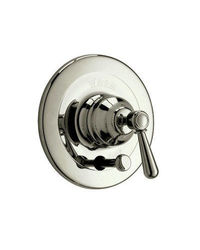 Rohl Verona Shower Valve Trim with Metal Lever Handle - Satin Nickel