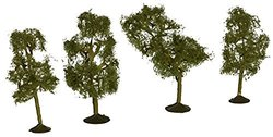 "BACHMANN 32109 SS 2 1/2-2 3/4"" Sycamore Trees (4) N"