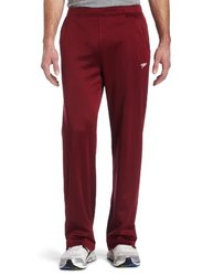 Speedo Men's Sonic Warmup Pant, Deep Maroon, XX-Large