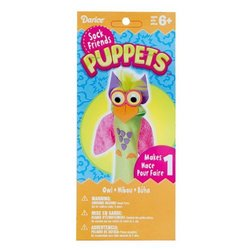 WeGlow International Owl Sock Puppet Kit (2 Kits)