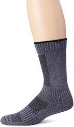 Ausangate Alpacor High Calf Hiking Socks - Gray/black - Men Medium