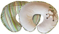Boppy Nursing Monkey Around Pillow and Positioner - Multi