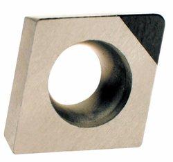 American Carbide Tool Polycrystalline Diamond Tipped Insert, PCD13 Grade, CCMW 21.52 Style, 1/4-Inch IC Size