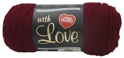 Yarn - With Love-Berry Red