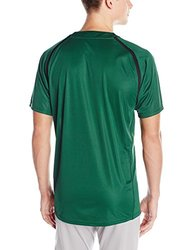 Easton Men's M7 Two Button Homeplate Jersey - Green/Black - Size: Large