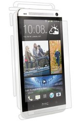 BodyGuardz ltraTough Clear Skins Full Body Protection Case for HTC One