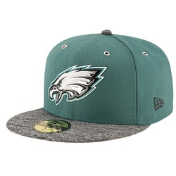 New Era Men's Philadelphia Eagles NFL 59Fifty on Stage Cap - Green/Gray