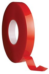 Avery Dennison AFB 6650C Double Sided Acrylic Foam Tape, Clear, 108 ft x 0.75 in, 19.7 mils Thick