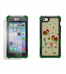 Beyond Cell Tri Shield Case for iPhone 5C - Holiday Birds