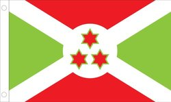 Burundi World Flag - 2' x 3' - Nylon