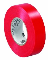 "Aviditi T96461810PKR Electrical Tape, 20 yds Length x 3/4"" Width, Red (Case of 10)"