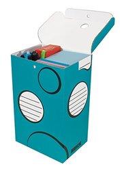 Boxa Brick   School Supply Organizer Box, 6 per Pack (6-BR04-0-BB-06)